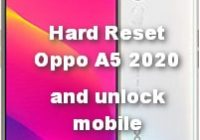 Hard Reset Oppo A5 2020